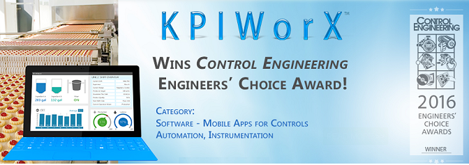Control Engineering 2016 Engineers' Choice award winner